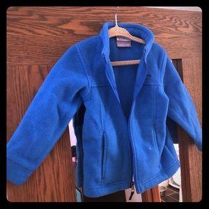 Blue Boys Columbia Fleece Jacket
